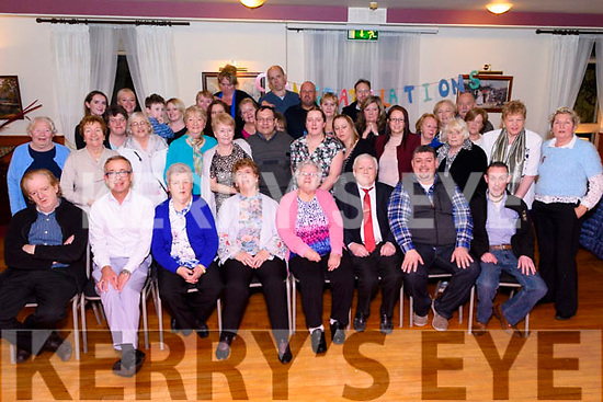 Mary Murphy celebrates her Eightieth Birthday in The Manor Inn, Killorglin surrounded by her Family & Friends.