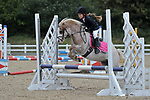 Class 4. 65cm. Unaffiliated showjumping. Brook Farm training centre. Essex. 10/09/2017. MANDATORY Credit Garry Bowden/Sportinpictures - NO UNAUTHORISED USE - 07837 394578