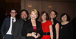 Erika Slezak & writers nominated (L to R) Chris Van Etten, Scott Sickles, Shelly Altman, Elizabeth Page, Jean Passanante  One Live To Live nominated at The 63rd Annual Writers Guild Awards on Sarturday, February 5, 2011 at the AXA Equitable Center, New York City, New York. (Photo by Sue Coflin/Max Photos)