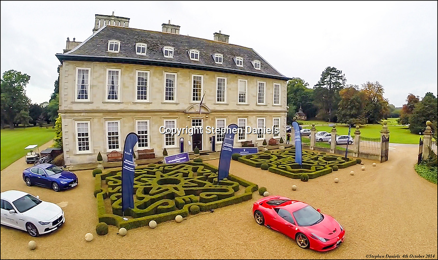 Photo by ©Stephen Daniels  04/10/2014<br /> Maserati at Stapleford Hall, Nr Melton Mowbray, Leicestershire
