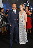 "LOS ANGELES, CA. October 01, 2018: Tom Hardy & Michelle Williams at the world premiere for ""Venom"" at the Regency Village Theatre.<br /> Picture: Paul Smith/Featureflash"