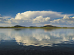 Big Lake reflection of Thunderhead in the White Mountains Arizona