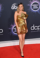 LOS ANGELES, USA. November 25, 2019: Keltie Knight at the 2019 American Music Awards at the Microsoft Theatre LA Live.<br /> Picture: Paul Smith/Featureflash