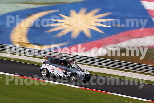 KUALA LUMPUR, MALAYSIA - May 29: Kenny LEE of Malaysia (#38) Malaysia Championship Series Round 1 at Sepang International Circuit on May 29, 2016 in Kuala Lumpur, Malaysia. Photo by Peter Lim/PhotoDesk.com.my