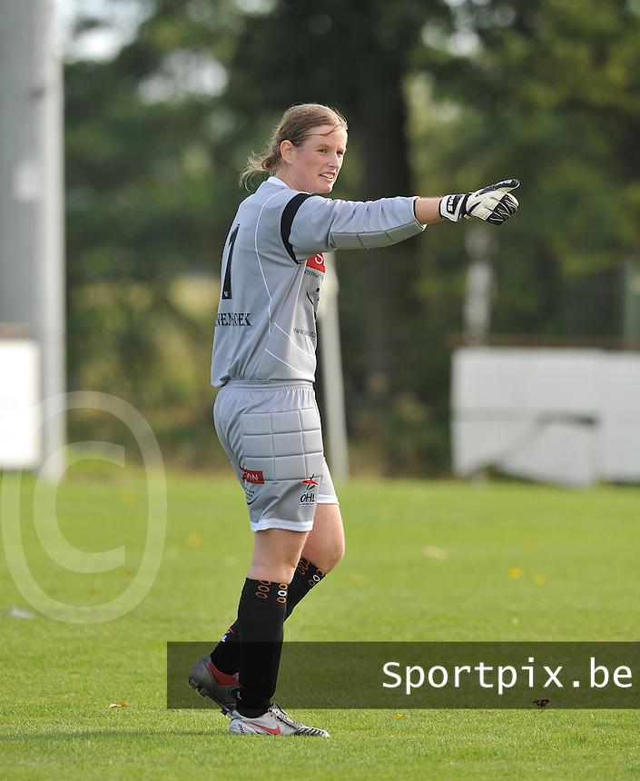 OHL Oud Heverlee Leuven Dames : Anneleen Haesen.Foto David Catry / Vrouwenteam.be