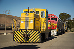 Fomer AT&SF GE 44 Tonner at the Western America Railraod Museum, Barstow, Calif.