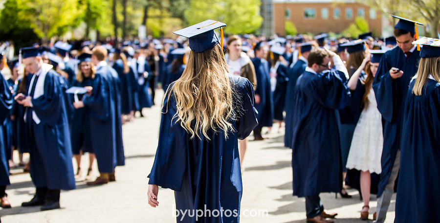 1704-51 2017 Spring Commencement 1021<br /> <br /> 1704-51 2017 Spring Commencement<br /> <br /> April 27, 2017<br /> <br /> Photography by Aislynn Edwards/BYU<br /> <br /> &copy; BYU PHOTO 2016<br /> All Rights Reserved<br /> photo@byu.edu  (801)422-7322