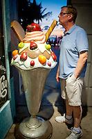 Man vs. Food... !!! Key West, Florida, USA. Photo by Debi PIttman Wilkey