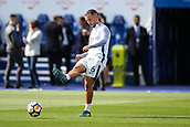 9th September 2017, King Power Stadium, Leicester, England; EPL Premier League Football, Leicester City versus Chelsea; Daniel Drinkwater of Chelsea returns to his former club after a transfer deadline day move