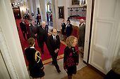 Washington, DC - October 7, 2009 -- United States Laureates arrive for the National Medal of Science and Medal of Technology and Innovation Ceremony in the East Room of the White House, Wednesday, October 7,  2009..Mandatory Credit: Lawrence Jackson - White House via CNP