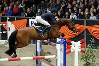 ZUIDBROEK - Paardensport, ICCH Zuidbroek, springen internationaal Grote Prijs , 05-01-2019, Daan van Geel met Djam