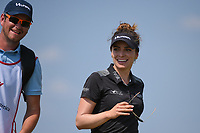 Gaby Lopez (MEX) smiles as she heads down 2 during the round 2 of the Volunteers of America Texas Classic, the Old American Golf Club, The Colony, Texas, USA. 10/4/2019.<br /> Picture: Golffile | Ken Murray<br /> <br /> <br /> All photo usage must carry mandatory copyright credit (© Golffile | Ken Murray)