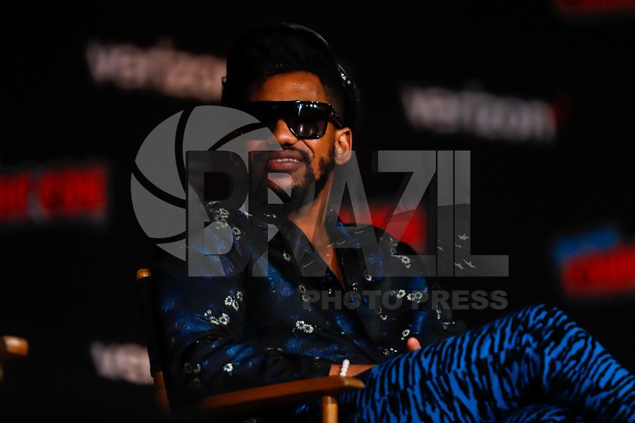 NOVA YORK, EUA, 05.10.2018 - COMIC-CON -  Brandon Mychal Smith durante a Comic Con no Jacob K. Javits Convention Center em Nova York nos Estados Unidos nesta sexta-feira, 05. (Foto: Vanessa Carvalho/Brazil Photo Press)