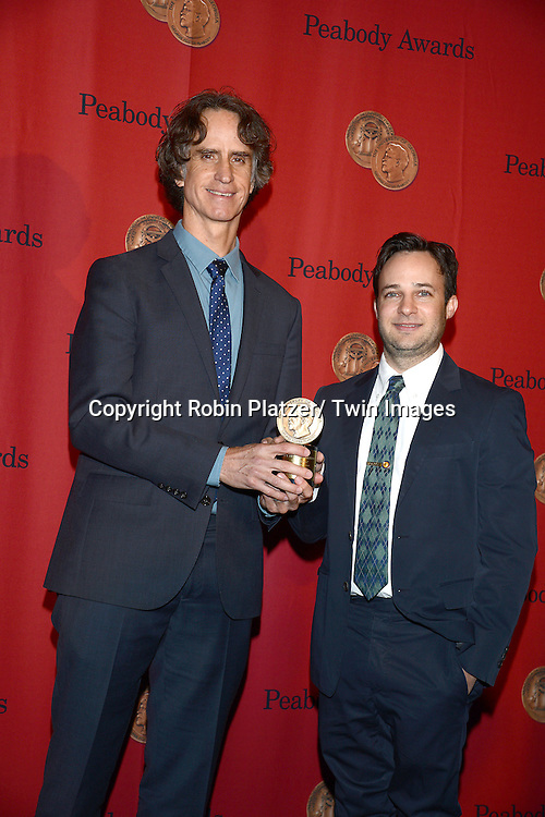 Jay Roach and Danny Strong of Game Change attend the 72nd Annual Peabody Awards on May 20, 2013 at the Waldorf=Astoria Hotel in New York City.