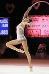 Viktoriia Mazur (UKR), OCTOBER 4, 2015 - Rhythmic Gymnastics : AEON CUP 2015 World wide R.G. Club Championships at Tokyo Metropolitan Gymnasium, Tokyo, Japan. (photo by Naoto Akasaka/AFLO)