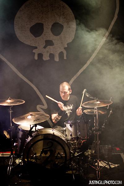 Live concert photo of Alkaline Trio @ Metro Chicago by http://www.justingillphoto.com