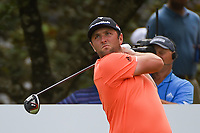 Jon Rahm (ESP) watches his tee shot on 13 during round 3 of the WGC FedEx St. Jude Invitational, TPC Southwind, Memphis, Tennessee, USA. 7/27/2019.<br /> Picture Ken Murray / Golffile.ie<br /> <br /> All photo usage must carry mandatory copyright credit (© Golffile | Ken Murray)