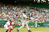 Washington, D.C. - June 16, 2006 -- New York Yankee infielder Alex Rodriguez (13) swings at a pitch in game action against the Washington Nationals at RFK Stadium on June 16, 2006..Credit: Ron Sachs / CNP