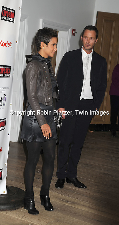 Halle Berry and Mark Liddell