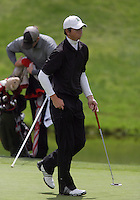 20 May, 2010:  Loyola Universities Patrick McCormick sunk his putt on hole nine of the NCAA Division I Regionals tournament Thursday at Gold Mountain Golf Course in Bremerton, WA.
