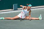 Lucie Hradecka (CZE) defeats Sara Errani (ITA) 6-2, 6-4