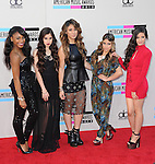 LOS ANGELES, CA - NOVEMBER 24: Fifth Harmony<br />  arrives at   The 2013 American Music Awards held at Nokia Live in Los Angeles, California on November 24,2013                                                                               &copy; 2013 Hollywood Press Agency