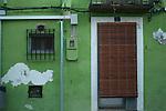 Denia   le tipiche case colorate del centro storico<br /> &copy;-Paolo della Corte