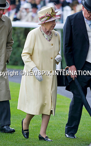 "ROYAL ASCOT 2011 DAY 4..The Queen and Prince Phillip attend Friday at Royal Ascot_17/06/2011..Mandatory Photo Credit: ©Dias/Newspix International..**ALL FEES PAYABLE TO: ""NEWSPIX INTERNATIONAL""**..PHOTO CREDIT MANDATORY!!: NEWSPIX INTERNATIONAL(Failure to credit will incur a surcharge of 100% of reproduction fees)..IMMEDIATE CONFIRMATION OF USAGE REQUIRED:.Newspix International, 31 Chinnery Hill, Bishop's Stortford, ENGLAND CM23 3PS.Tel:+441279 324672  ; Fax: +441279656877.Mobile:  0777568 1153.e-mail: info@newspixinternational.co.uk"