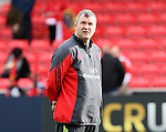 Anthony Foley Munster coach - European Rugby Champions Cup - Sale Sharks vs Munster -  AJ Bell Stadium - Salford- England - 18th October 2014  - Picture Simon Bellis/Sportimage