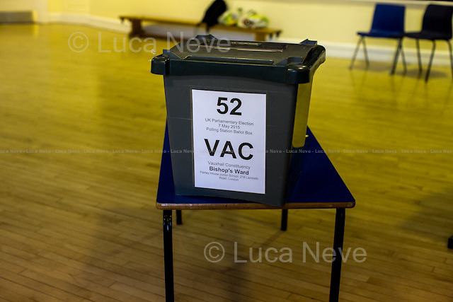 &quot;Set Up Of A Polling Station&quot;.<br />