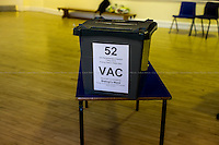 &quot;Set Up Of A Polling Station&quot;.<br /> <br /> For more pictures and info about this event please click here: http://bit.ly/1c94Jtp
