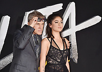 WESTWOOD, CA - FEBRUARY 05: Cristoph Waltz (L) and Rosa Salazar attend the Premiere Of 20th Century Fox's 'Alita: Battle Angel' at Westwood Regency Theater on February 05, 2019 in Los Angeles, California.<br /> CAP/ROT/TM<br /> ©TM/ROT/Capital Pictures