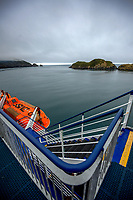 Bluebridge Ferry in Queen Charlotte Sound, New Zealand on Monday, 20 January 2020. Photo: Dave Lintott / lintottphoto.co.nz
