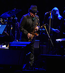 "SUNRISE FL - FEBRUARY 01: Iconic singer-songwriter Van Morrison performed the first of two shows in Miami on Wednesday, Feb. 7, at the James L. Knight Center. Morrison, who will also play the venue on Thursday, Feb. 8, is touring to promote two albums he released in 2017: the blues-soaked ""Roll With the Punches"" and a collection of jazz standards and originals titled ""Versatile.""  ( Photo by Johnny Louis / jlnphotography.com )"