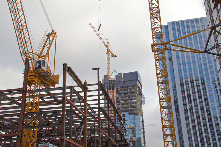 Seattle, Amazon.com at Denny Triangle, new construction, The Gallery Block 14, NBBJ Architects, Clise properties,