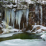 This photo represents January in the 2018 White Mountains New Hampshire calendar. The Lower Pool at Sabbaday Falls in Waterville Valley, New Hampshire. You can purchase a copy of the calendar here: http://bit.ly/2rND4Kf