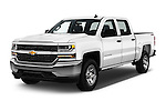 2016 Chevrolet Silverado 1500 LS 4 Door Pickup Angular Front stock photos of front three quarter view