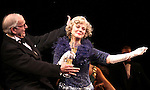 Blythe Danner Returns to Broadway: Terry Beaver, Blythe Danner .during the Curtain Call for 'Nice Work If You Can Get It'  at the Imperial Theatre in New York City on December 19, 2012