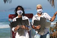 31/05/2020 - PROTESTO CONTRA A VIOLÊNCIA POLICIAL NO RIO DE JANEIRO