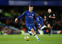 30th November 2019; Stamford Bridge, London, England; English Premier League Football, Chelsea versus West Ham United; Christian Pulisic of Chelsea - Strictly Editorial Use Only. No use with unauthorized audio, video, data, fixture lists, club/league logos or 'live' services. Online in-match use limited to 120 images, no video emulation. No use in betting, games or single club/league/player publications