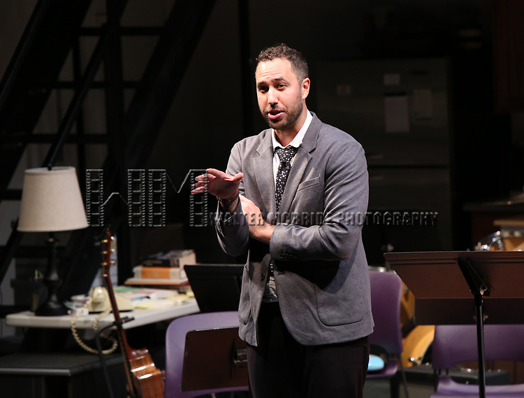 Eric Micha Holmes during the 2018 Presentation of New Works by the DGF Fellows on October 15, 2018 at the Playwrights Horizons Theatre in New York City.