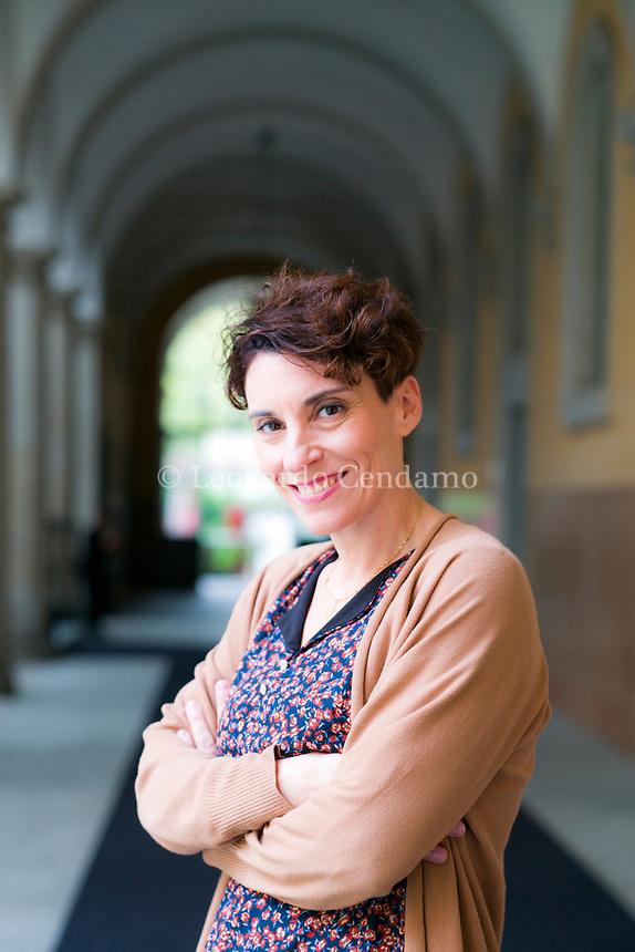 Stefania Auci, é una scrittrice italiana. © Leonardo Cendamo