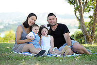 Morgan family photoshoot in Wellington, New Zealand on Sunday, 3 March 2019. Photo: Dave Lintott / lintottphoto.co.nz