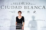 Actress Aura Garrido attends presentation of 'El silencio de la Ciudad Blanca' during FestVal in Vitoria, Spain. September 05, 2018. (ALTERPHOTOS/Borja B.Hojas)