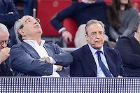 Real Madrid's president Florentino Perez during Finals match of 2017 Mini King's Cup at Fernando Buesa Arena in Vitoria, Spain. February 19, 2017. (ALTERPHOTOS/BorjaB.Hojas) /NortEPhoto.com