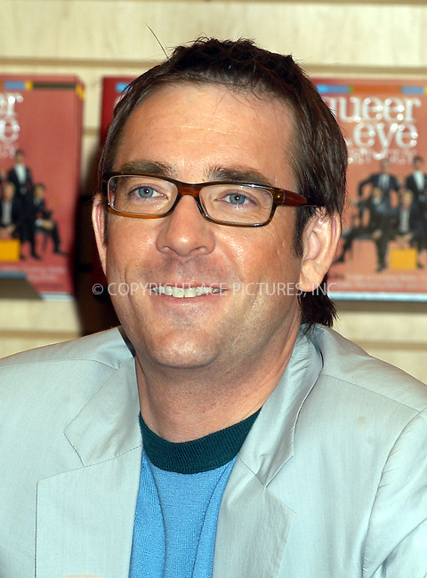 The Fab 5 'Queer Eye for the Straight Guy' sign their new book at Borders Store. PICTURED TED ALLEN. New York, February 18, 2004. Please byline: AJ SOKALNER/ACE Pictures.   ..*PAY-PER-USE*      ....IMPORTANT: Please note that our old trade name, NEW YORK PHOTO PRESS (NYPP), is replaced by new name, ACE PICTURES. New York Photo Press and ACE Pictures are owned by All Celebrity Entertainment, Inc.......All Celebrity Entertainment, Inc:  ..contact: Alecsey Boldeskul (646) 267-6913 ..Philip Vaughan (646) 769-0430..e-mail: info@nyphotopress.com