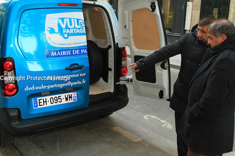 LANCEMENT DE L'AUTOPARTAGE DE VULE POUR LES PROFESSIONELS PARISIENS