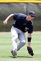 Matej Hejma (24) Outfielder for the GCL Twins during a game against the GCL Rays on July 16th, 2010 at Charlotte Sports Park in Port Charlotte Florida. The GCL Twins are the the Gulf Coast Rookie League affiliate of the Minnesota Twins. Photo by: Mark LoMoglio/Four Seam Images