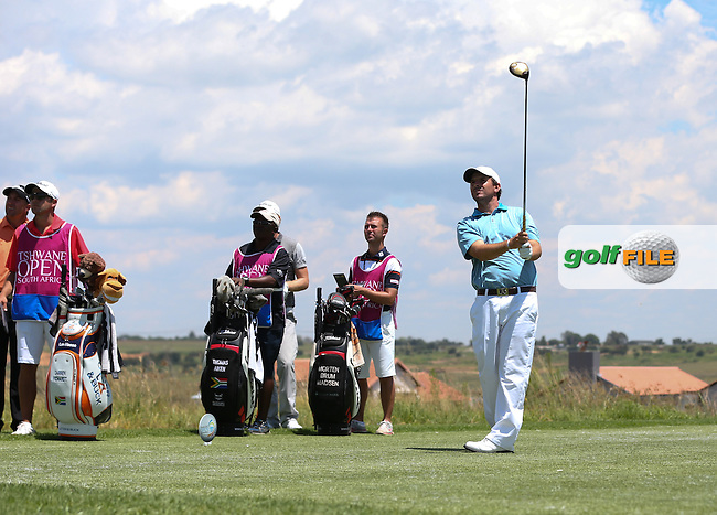 Thomas Aiken (RSA) adds just one shot during Round Two of The Tshwane Open 2014 at the Els (Copperleaf) Golf Club, City of Tshwane, Pretoria, South Africa. Picture:  David Lloyd / www.golffile.ie