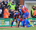 Crystal Palace's Joe Ledley celebrates scoring his sides opening goal<br /> <br /> - English Premier League - Crystal Palace vs Liverpool  - Selhurst Park - London - England - 6th March 2016 - Pic David Klein/Sportimage